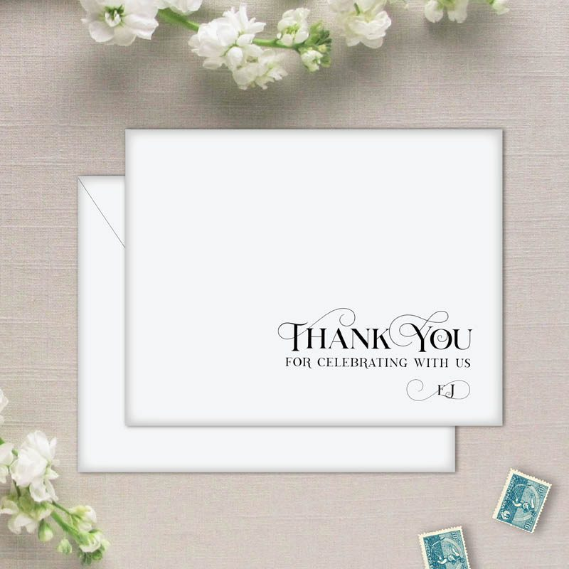 Amore Personalized Thank You Cards