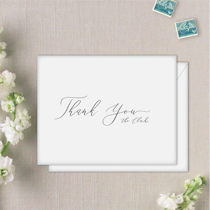 Custom Cali Thank you cards