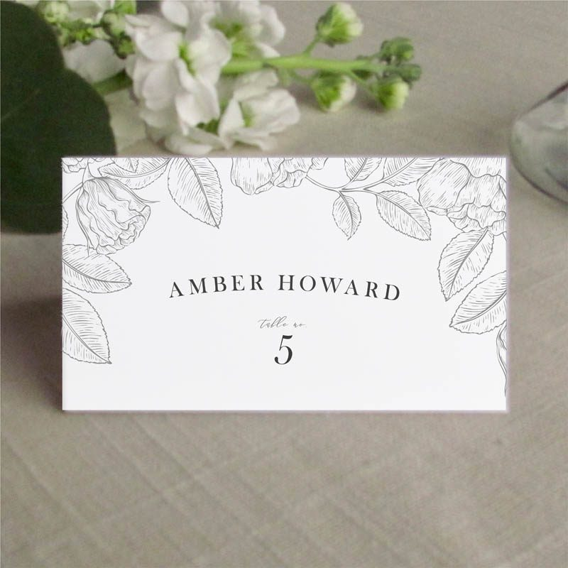 Garden Place Card